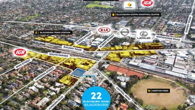 Chinese developer bags apartment project site in Melbourne's Blackburn for $3.9 million