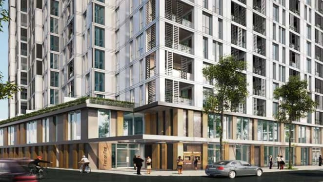 Blacktown's 160 apartment project is put on the market
