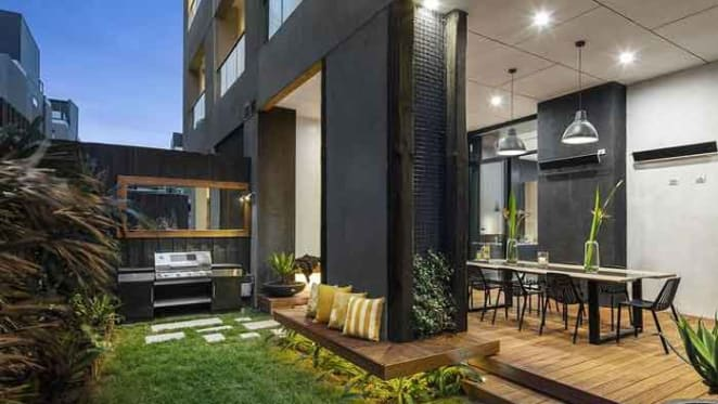 Block contestants Will and Karlie's Port Melbourne apartment for sale