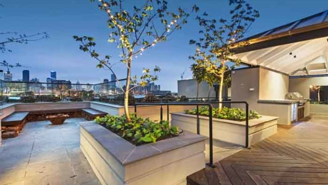 Block contestants Carleen and Dan's apartment at Port Melbourne for sale