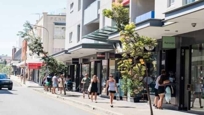 Bondi's $32 million laneway strata shop sale