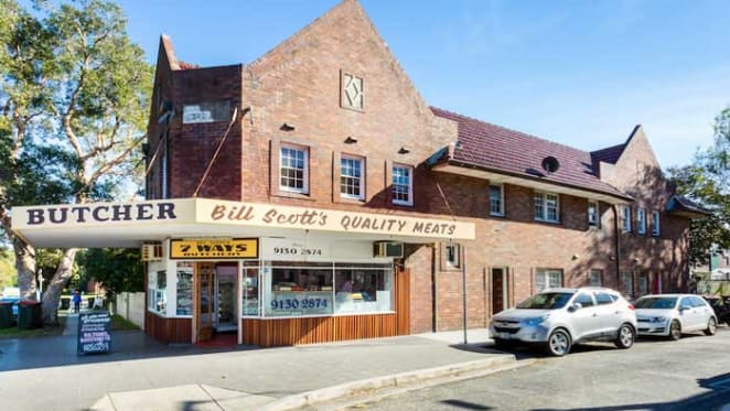 North Bondi retail and residential block on the market