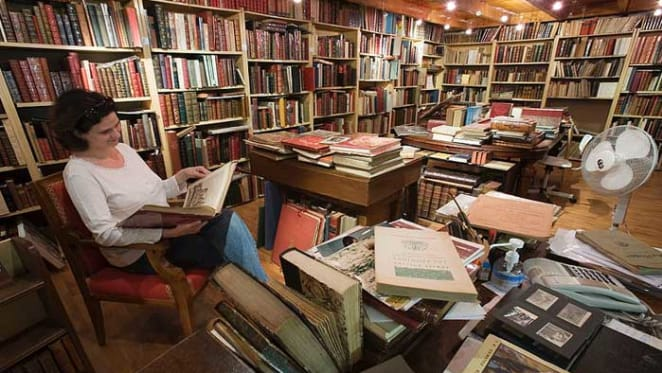 Love of bookshops in a time of Amazon and populism