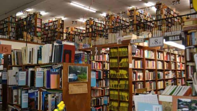 All hail the bookshop: survivor against the odds