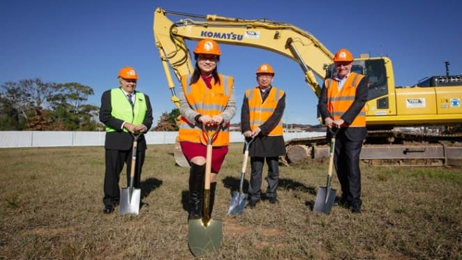 Construction starts on Sydney's $1 billion housing estate