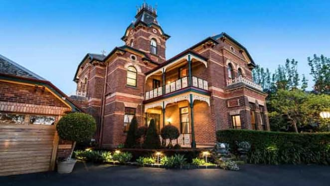 Victorian trophy home mansion listed in Brighton