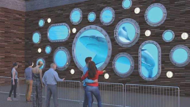 Buchan design reinvents Lloyd Rees water fountain landmark for Vivid Light Festival