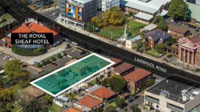 Nelson Meers sells shop top housing development site in Burwood