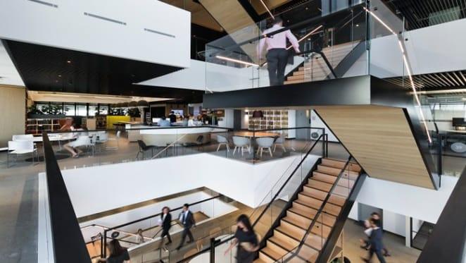 Interiors award for Minter Ellison Sydney office