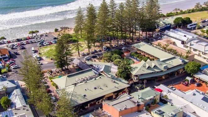 Byron Bay Beach Hotel listed
