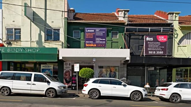 Mixed-use Camberwell site leased by stationery business