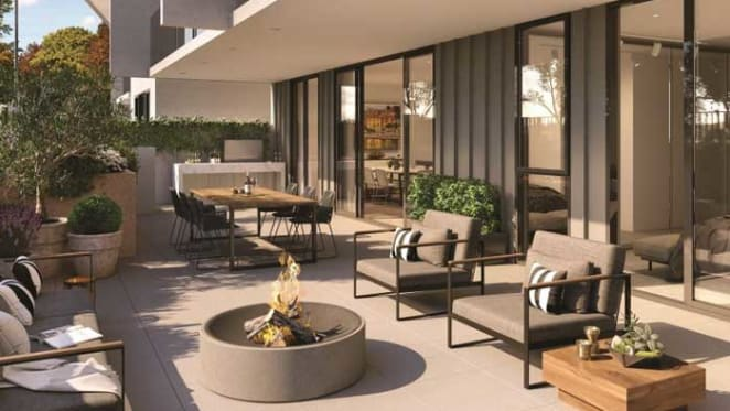 Tuscan-inspired apartments slated for Canberra's Campbell 5