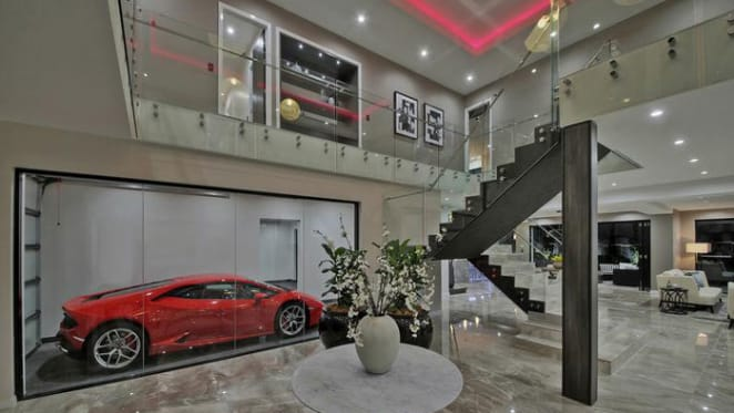 Park the car in the Brisbane home foyer
