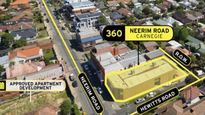 Developer snaps ups mixed-use site in Melbourne's Carnegie