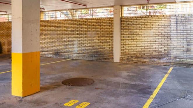 Potts Point's priciest parking spot set for auction