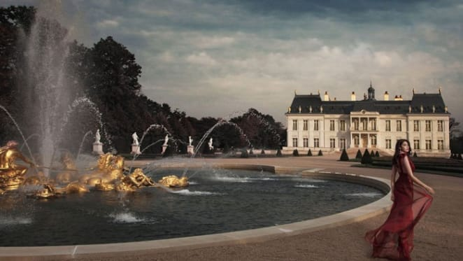 French palace with underwater moat lounge sold at world record price by Cogemad