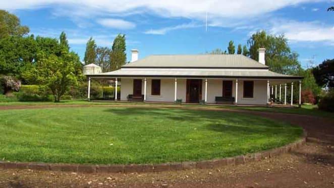 Bluestone Cheviot Hills homestead farm in Western Districts listed