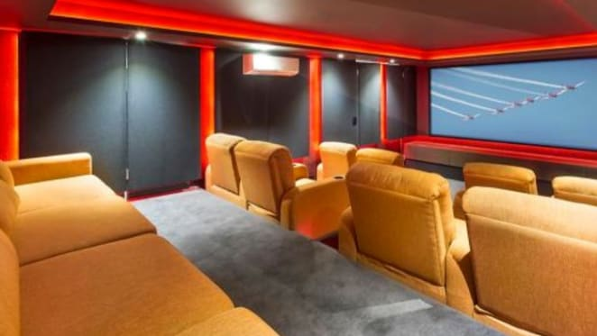 Popcorn and property: six plush home cinemas spotted for sale in 2015