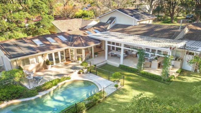 New price tag for bridal designer Lisa Gowing's Wahroonga home