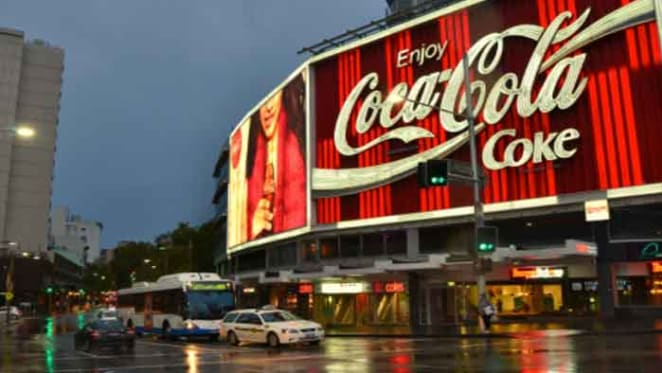 Coca-Cola sign up for sale in pieces