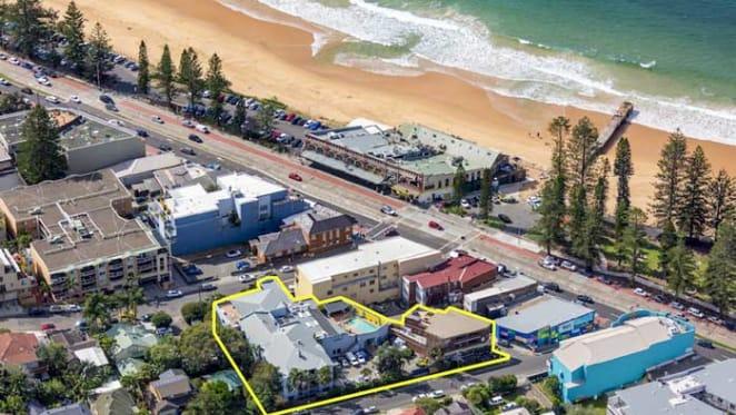 Two beachside properties on Sydney's Collaroy Beach on the market