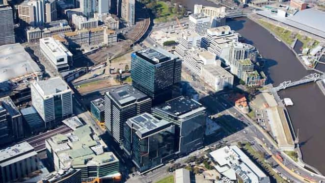 Fourth tower constructed at Collins Square Melbourne by Multiplex