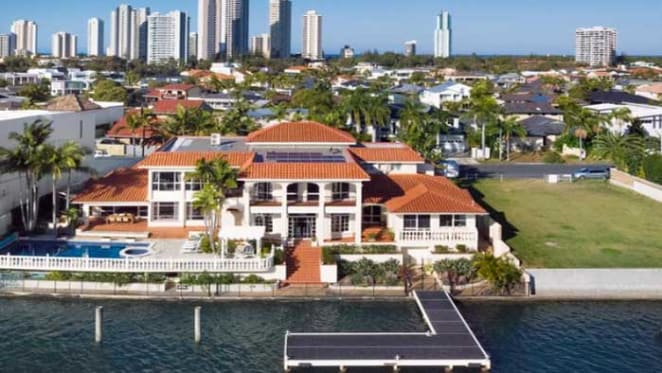 1980s Keith Williams mansion hits the market at Surfers Paradise