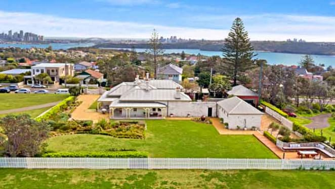 Vaucluse Lighthouse Keepers Cottage listed for sale