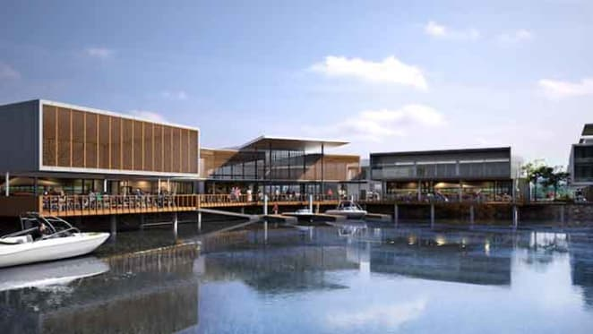Serenity Cove waterfront development at Hope Island ready to be launched