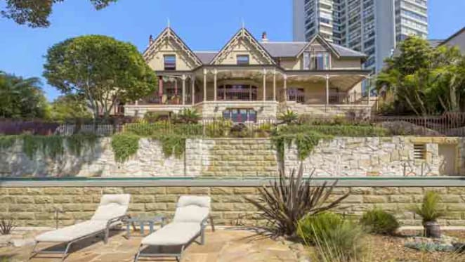 Gothic Revival Atherfield, Darling Point listing