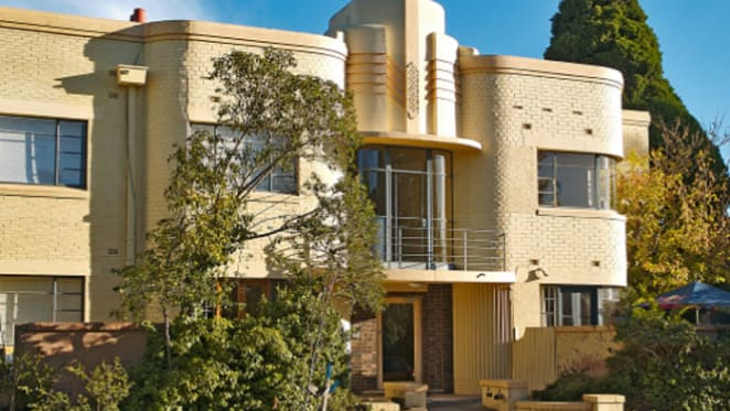 Art deco apartments are the most expensive in Melbourne