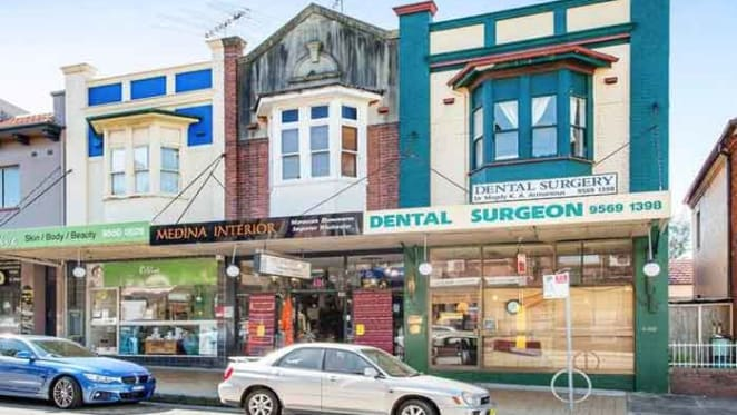 Shop and unit in Sydney's Dulwich Hill beckons investors at Raine & Horne auction