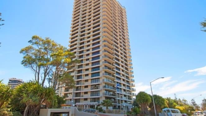 Falling prices inside De Ville apartments at Main Beach on the Gold Coast