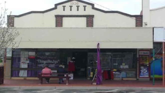 Dimboola main street shop for sale