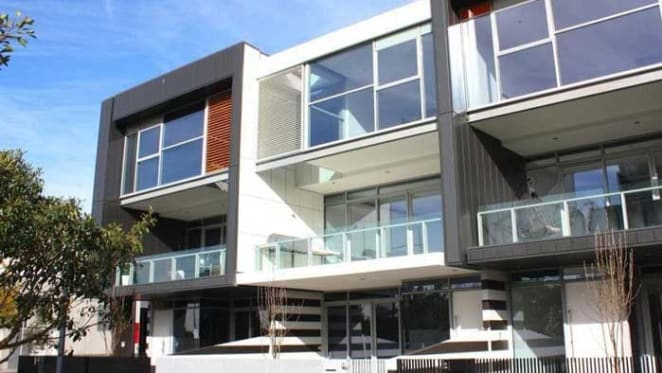 Three level Melbourne Docklands townhouse listed
