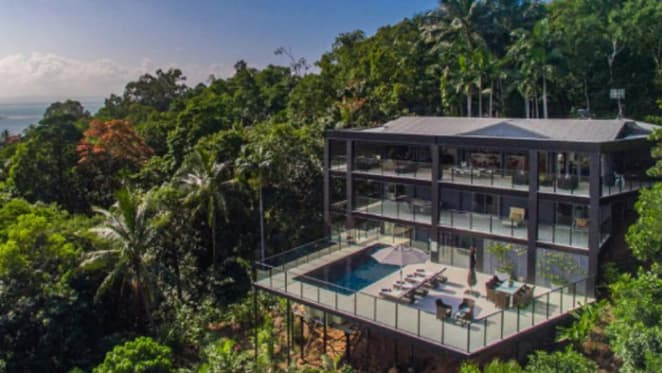 Patti Mostyn's Port Douglas home, The Glasshouse, listed for sale