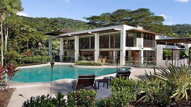 Helicopter pad at Port Douglas trophy home