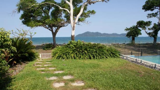 Beachfront listed with Dunk Island views