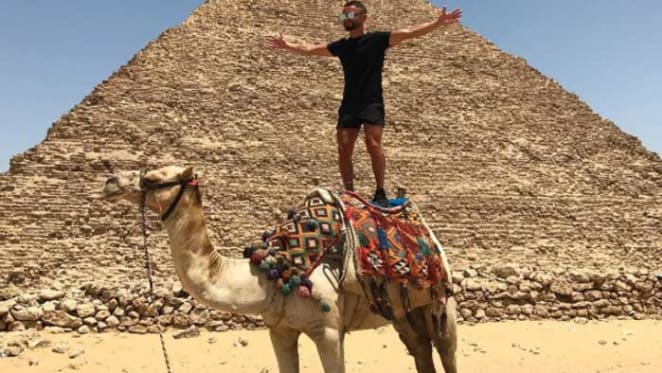 Sydney estate agents return from riding camels on their winter holiday break
