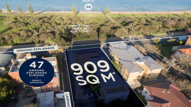 Elwood Beach apartment block listed with $6 million hopes