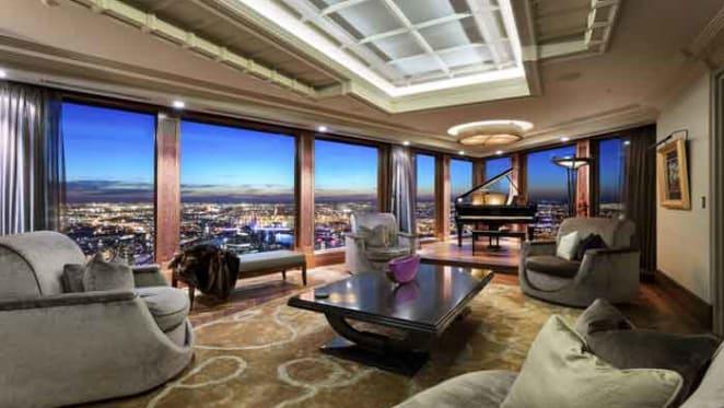 Eureka penthouse hits the market