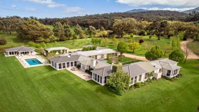 Field House, Mt Macedon sold by horse trainer Lloyd Williams
