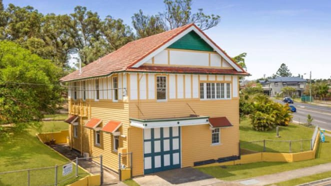 Historic fire station at Yeronga for sale