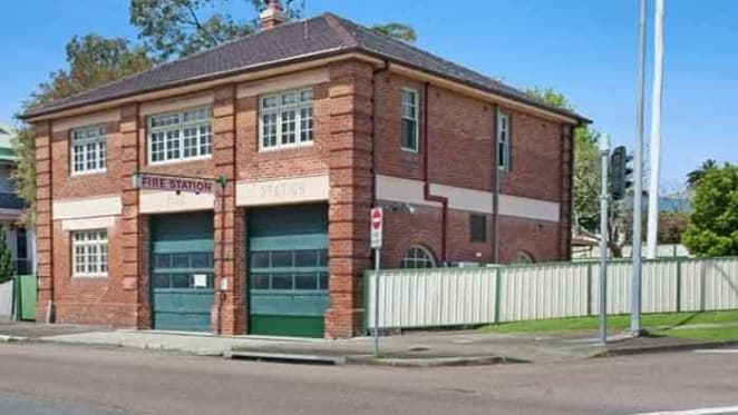 Former Broadmeadow fire station for auction