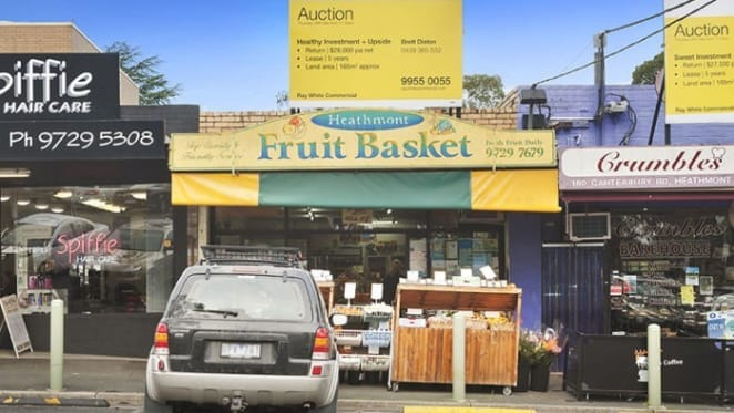 Thriving fruit shop sold for $900,000 at Heathmont
