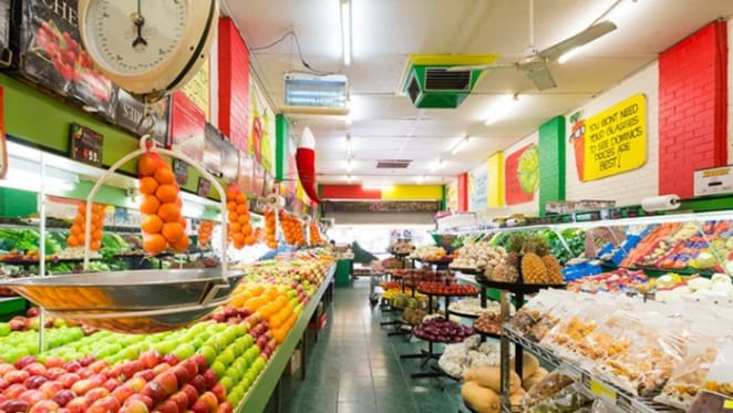 Fresh fruit shop in Melbourne's Yarraville exceeds reserve price at auction