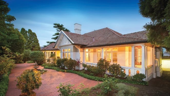 Edwardian style trophy home listed in South Yarra