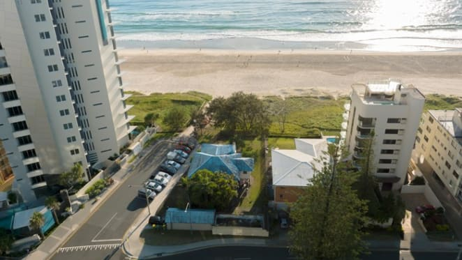 Surfers Paradise beachfront development site for sale