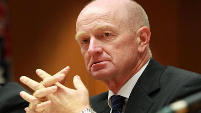 RBA's Stevens and Treasury's Ray Sombre update on