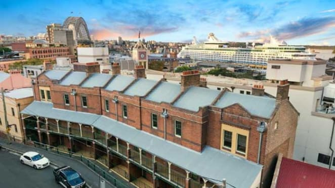 Two loft-style heritage apartments in Sydney's Millers Point listed